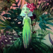 Mujer cactus
